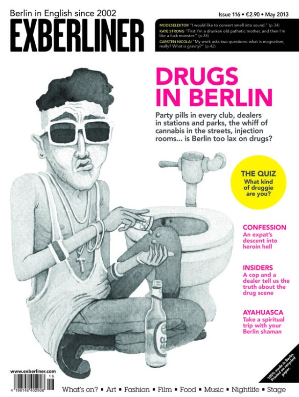 Exberliner Magazine May 2013 Cover